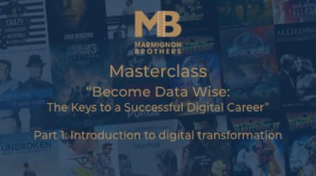 Sur votre application e-dutainment, vous pourrez regarder la Masterclass Become Data Wise des MarmignonBrothers !