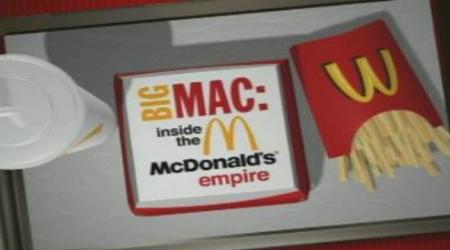 Sur votre application e-dutainment, vous pourrez regarder Big Mac : Inside McDonald's Empire !