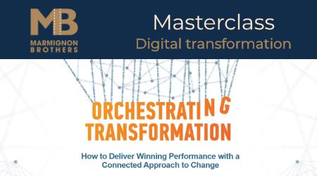 Sur votre application e-dutainment, vous pourrez regarder la Masterclass Digital Transformation des MarmignonBrothers !