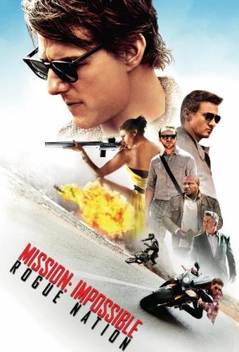 Sur votre application e-dutainment, vous pourrez regarder Mission Impossible : Rogue Nation !