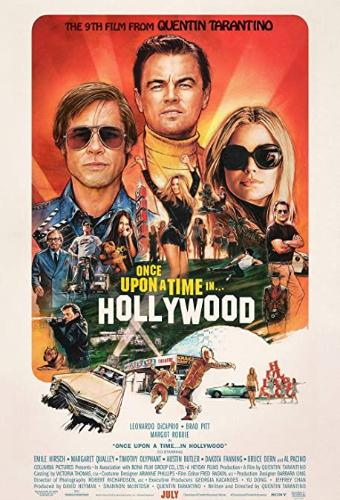 Sur votre application e-dutainment, vous pourrez regarder One Upon A Time In Hollywood !
