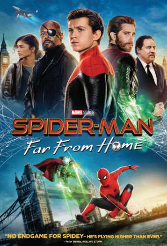 Sur votre application e-dutainment, vous pourrez regarder Spider-Man !